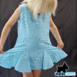 sukienka BŁĘKITNE FALE
